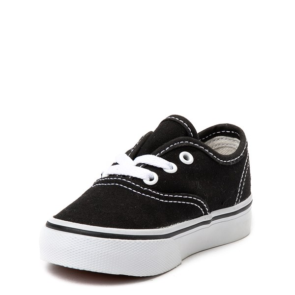 alternate view Vans Authentic Skate Shoe - Baby / Toddler - BlackALT3