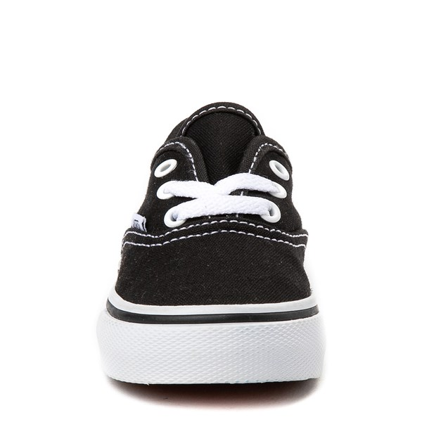 alternate view Vans Authentic Skate Shoe - Baby / Toddler - BlackALT4