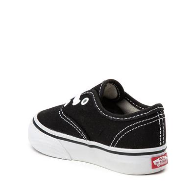 Alternate view of Vans Authentic Skate Shoe - Baby / Toddler - Black