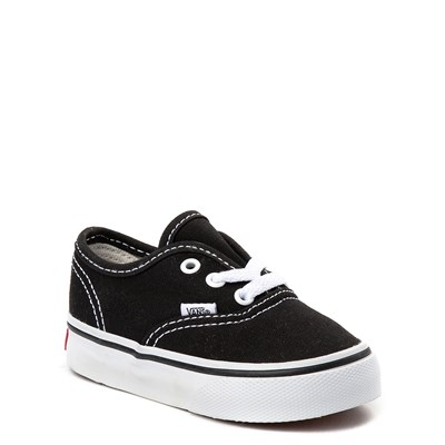 Alternate view of Vans Authentic Skate Shoe - Baby / Toddler - Black