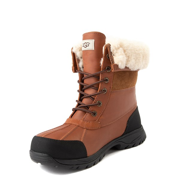alternate view Mens UGG® Butte Boot - TanALT3