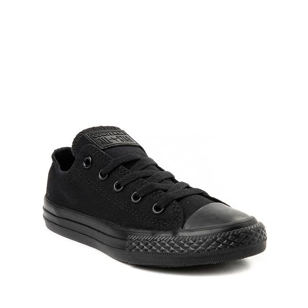 alternate view Converse Chuck Taylor All Star Lo Sneaker - Little Kid - BlackALT5