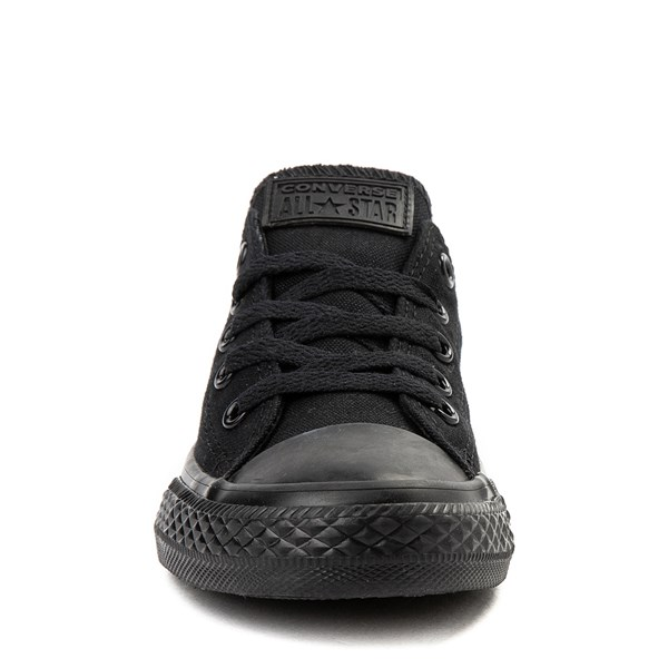 alternate view Converse Chuck Taylor All Star Lo Sneaker - Little Kid - BlackALT4