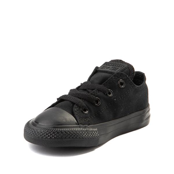 alternate view Converse Chuck Taylor All Star Lo Sneaker - Baby / Toddler - BlackALT2