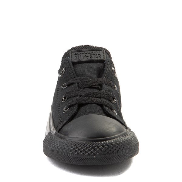 alternate view Converse Chuck Taylor All Star Lo Sneaker - Baby / Toddler - BlackALT4