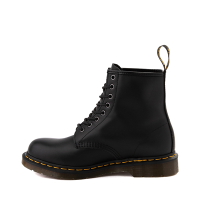 Alternate view of Mens Dr. Martens 1460 8-Eye Nappa Boot - Black