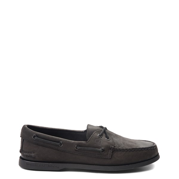 Main view of Mens Sperry Top-Sider Authentic Original Boat Shoe - Black