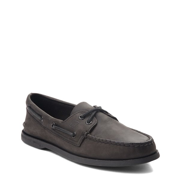 alternate view Mens Sperry Top-Sider Authentic Original Boat Shoe - BlackALT1