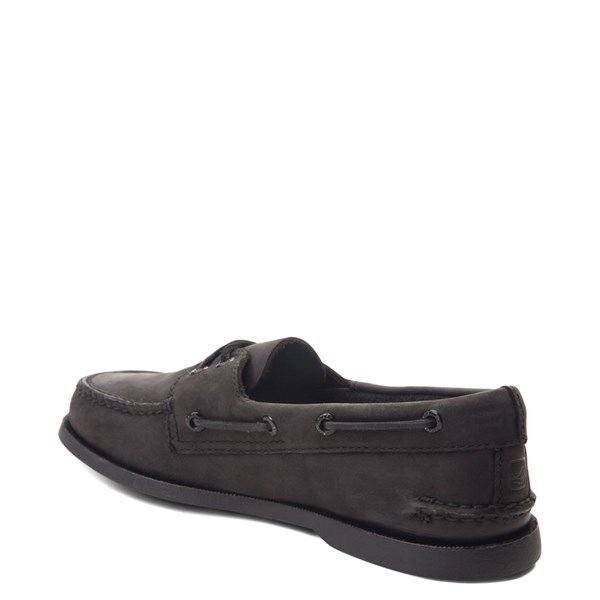 alternate view Mens Sperry Top-Sider Authentic Original Boat Shoe - BlackALT2