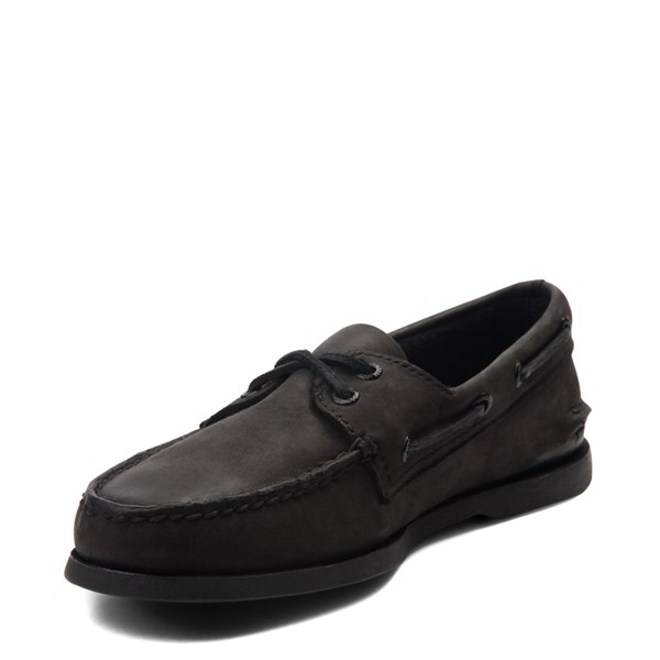 alternate view Mens Sperry Top-Sider Authentic Original Boat Shoe - BlackALT3