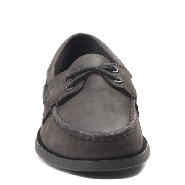 alternate view Mens Sperry Top-Sider Authentic Original Boat Shoe - BlackALT4