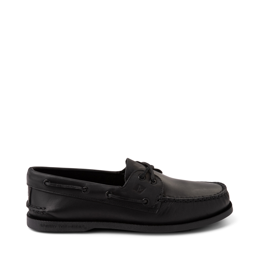 Mens Sperry Top-Sider Authentic Original Boat Shoe - Black