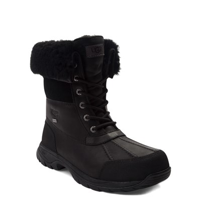 Alternate view of Mens UGG® Butte Boot - Black