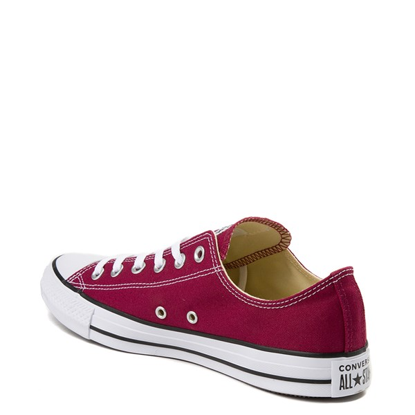 alternate view Converse Chuck Taylor All Star Lo Sneaker - MaroonALT2