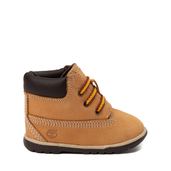"Default view of Timberland 6"" Hard Sole Bootie - Baby - Wheat"