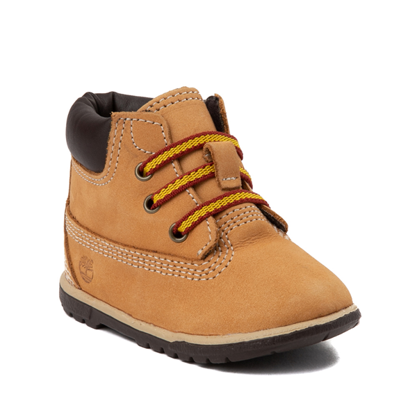"Alternate view of Timberland 6"" Hard Sole Bootie - Baby - Wheat"