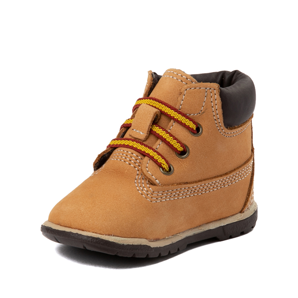 "alternate view Timberland 6"" Hard Sole Bootie - Baby - WheatALT3"