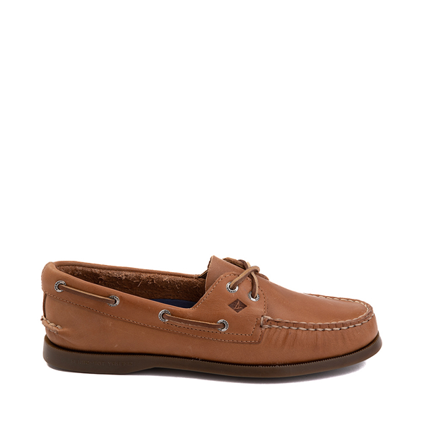 Main view of Womens Sperry Top-Sider Authentic Original Boat Shoe - Tan