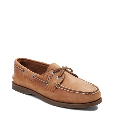 Alternate view of Womens Sperry Top-Sider Authentic Original Boat Shoe - Tan