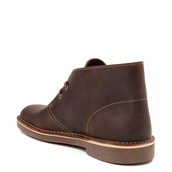 alternate view Mens Clarks Bushacre Casual Shoe - BrownALT2