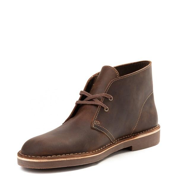 alternate view Mens Clarks Bushacre Casual Shoe - BrownALT3