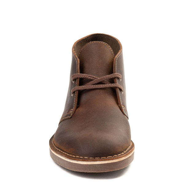 alternate view Mens Clarks Bushacre Casual Shoe - BrownALT4