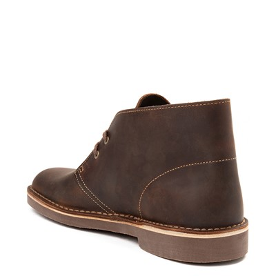 Alternate view of Mens Clarks Bushacre Casual Shoe - Brown