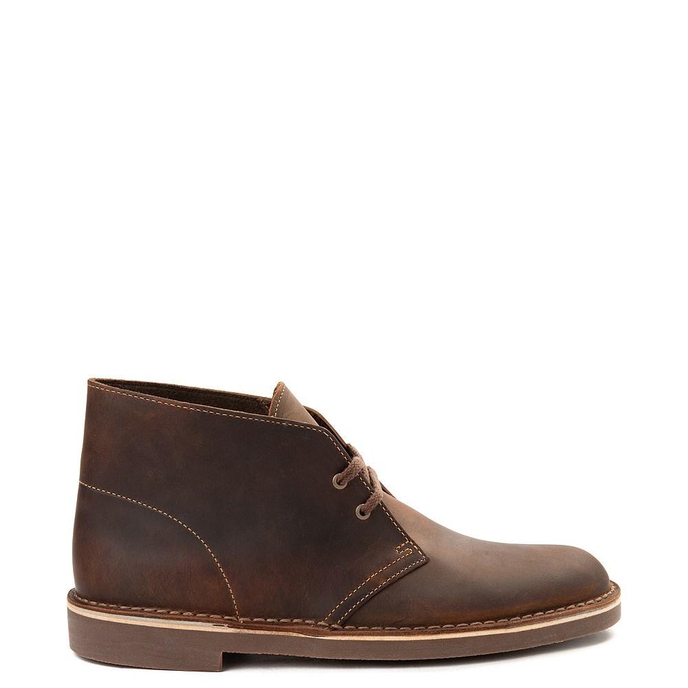 Mens Clarks Bushacre Casual Shoe - Brown