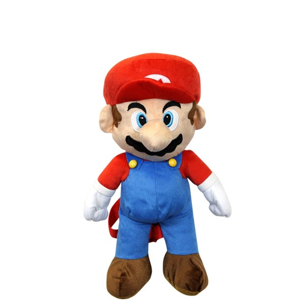Main view of Super Mario Plush Backpack - Multicolor
