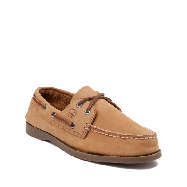 alternate view Sperry Top-Sider Authentic Original Boat Shoe - Little Kid / Big Kid - TanALT5