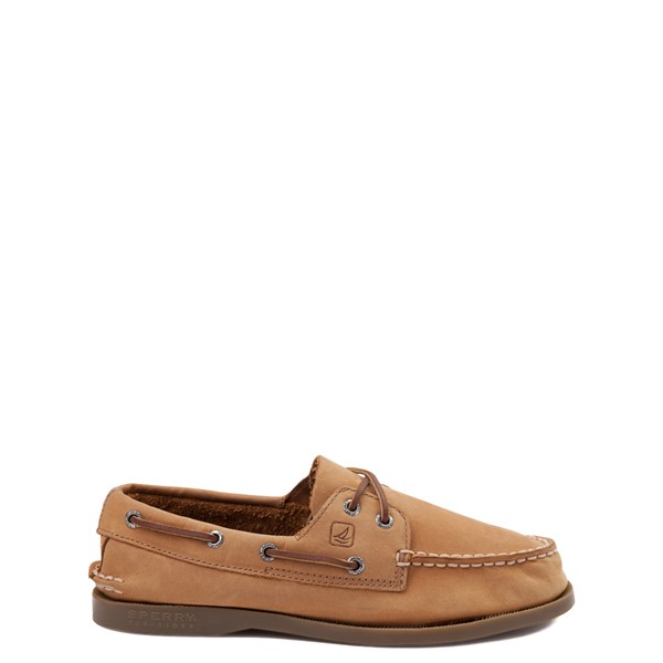 Main view of Sperry Top-Sider Authentic Original Boat Shoe - Little Kid / Big Kid - Tan