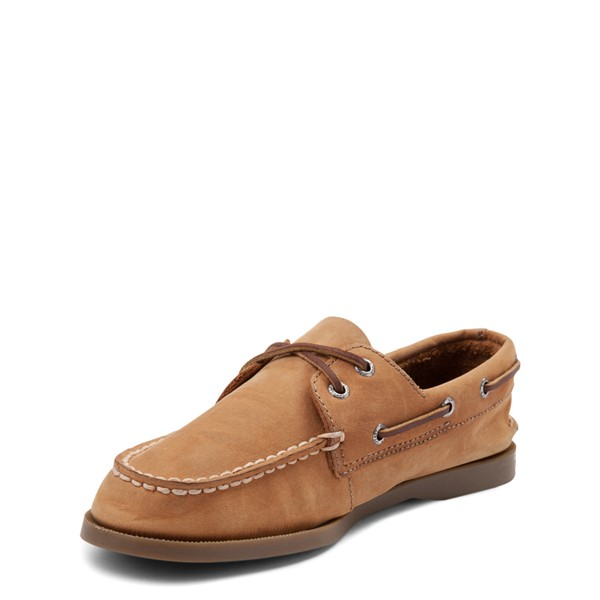 alternate view Sperry Top-Sider Authentic Original Boat Shoe - Little Kid / Big Kid - TanALT3