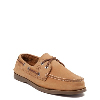 Alternate view of Sperry Top-Sider Authentic Original Boat Shoe - Little Kid / Big Kid - Tan