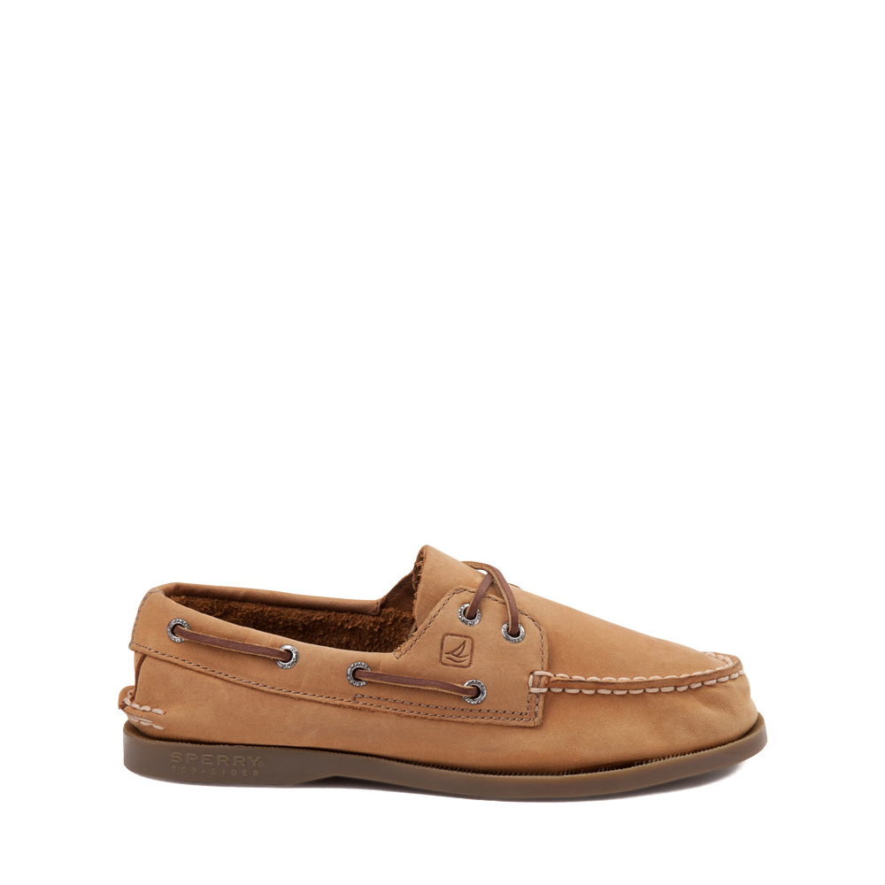 Sperry Top-Sider Authentic Original Boat Shoe - Little Kid / Big Kid - Tan