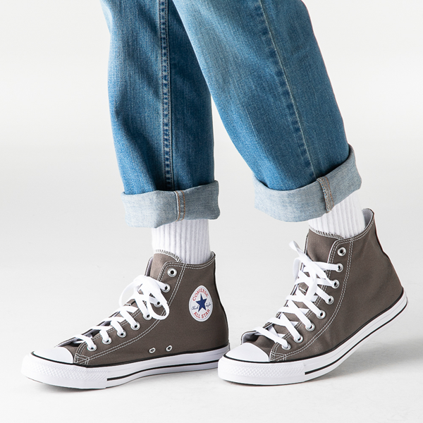 alternate view Converse Chuck Taylor All Star Hi Sneaker - GrayB-LIFESTYLE1
