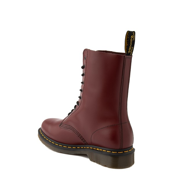alternate view Dr. Martens 1490 10-Eye Boot - CherryALT1