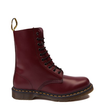 Main view of Dr. Martens 1490 10-Eye Boot - Cherry