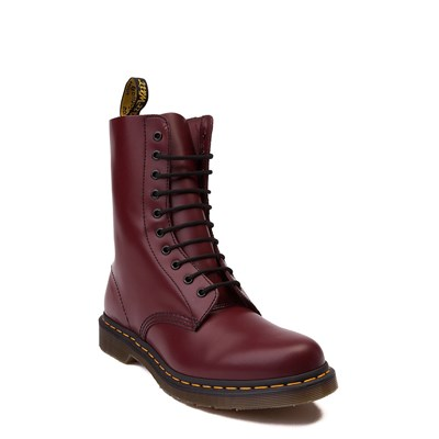Alternate view of Dr. Martens 1490 10-Eye Boot - Cherry