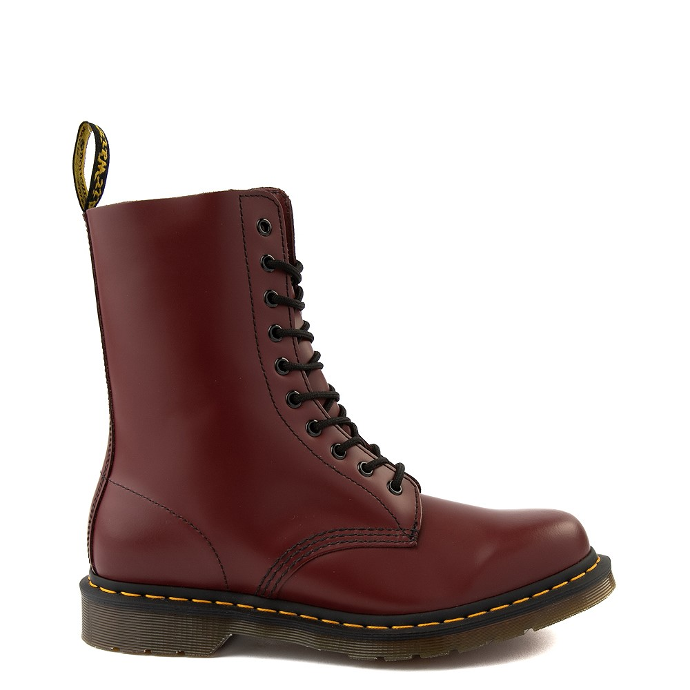 Dr. Martens 1490 10-Eye Boot - Cherry