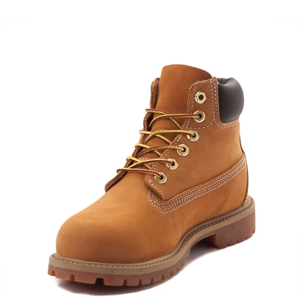 "alternate view Timberland 6"" Classic Boot - Little Kid - WheatALT3"