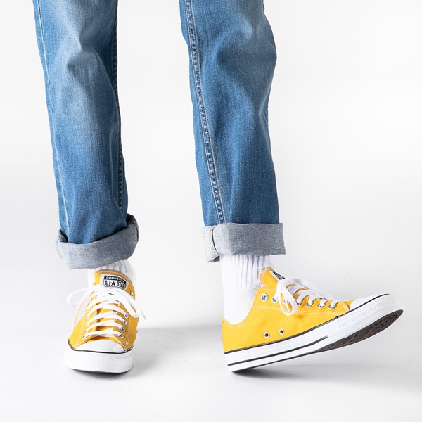 alternate view Converse Chuck Taylor All Star Lo Sneaker - LemonB-LIFESTYLE1