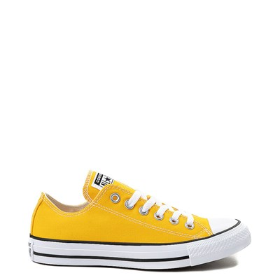 Main view of Yellow Converse Chuck Taylor All Star Lo Sneaker