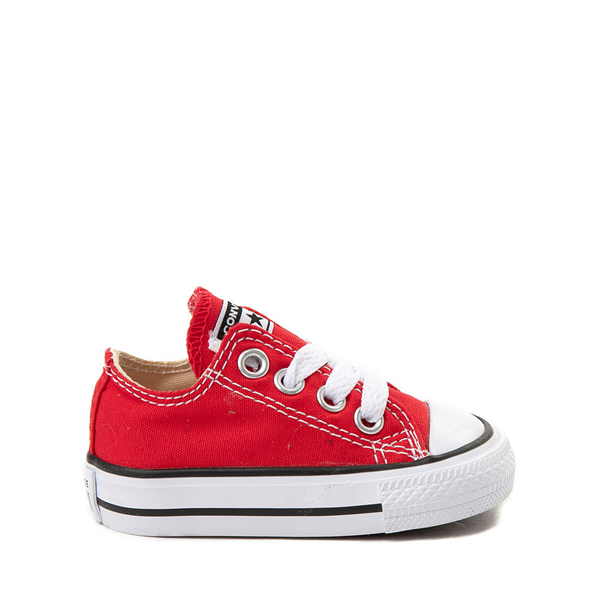 Main view of Converse Chuck Taylor All Star Lo Sneaker - Baby / Toddler - Red