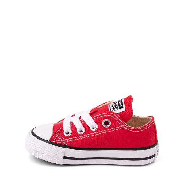 alternate view Converse Chuck Taylor All Star Lo Sneaker - Baby / Toddler - RedALT1