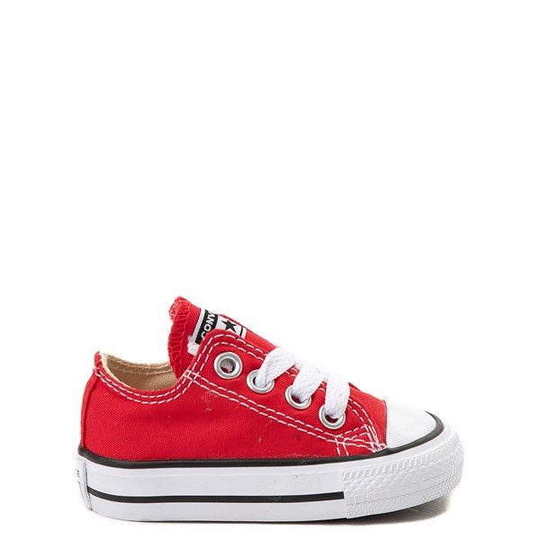 Default view of Converse Chuck Taylor All Star Lo Sneaker - Baby / Toddler - Red