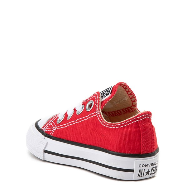 alternate view Converse Chuck Taylor All Star Lo Sneaker - Baby / Toddler - RedALT2