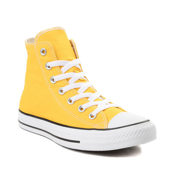 alternate view Converse Chuck Taylor All Star Hi Sneaker - Lemon ChromeALT5