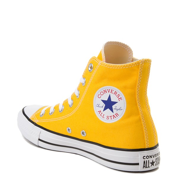 alternate view Converse Chuck Taylor All Star Hi Sneaker - Lemon ChromeALT2