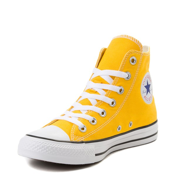 alternate view Converse Chuck Taylor All Star Hi Sneaker - Lemon ChromeALT3