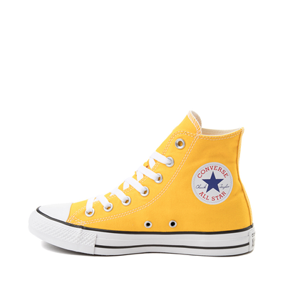 Alternate view of Converse Chuck Taylor All Star Hi Sneaker - Lemon Chrome